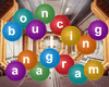 Bouncing Anagram spelling game