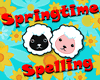Spring spelling game