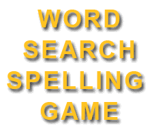 Word Search Spelling Game