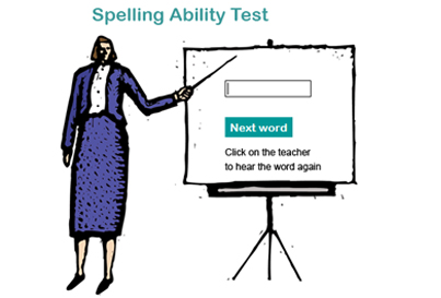 New Spelling Ability Test