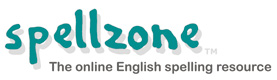 Spellzone - the online English spelling resource